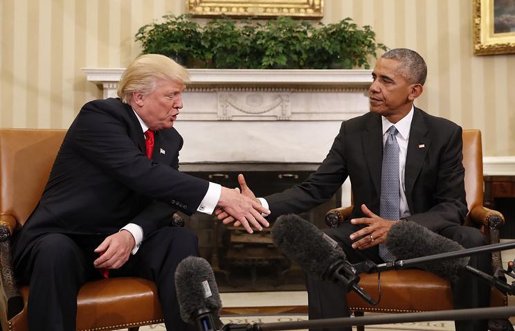 Обама иТрамп поведали об результатах встречи вБелом доме