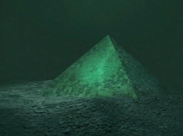 Ученые обнаружили таинственную пирамиду врайоне Бермудского треугольника