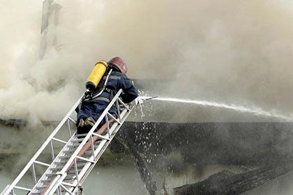 Измосковской школы эвакуировали 720 детей в итоге пожара
