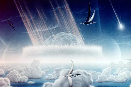 Ученые: астероиды создали условия для развития новых форм жизни