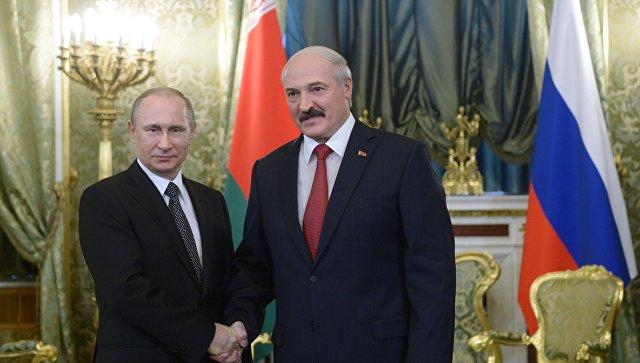 Переговоры Лукашенко иПутина вМоскве продолжались более пяти часов