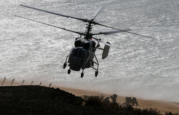 Япония подняла истребители из-за русского вертолета