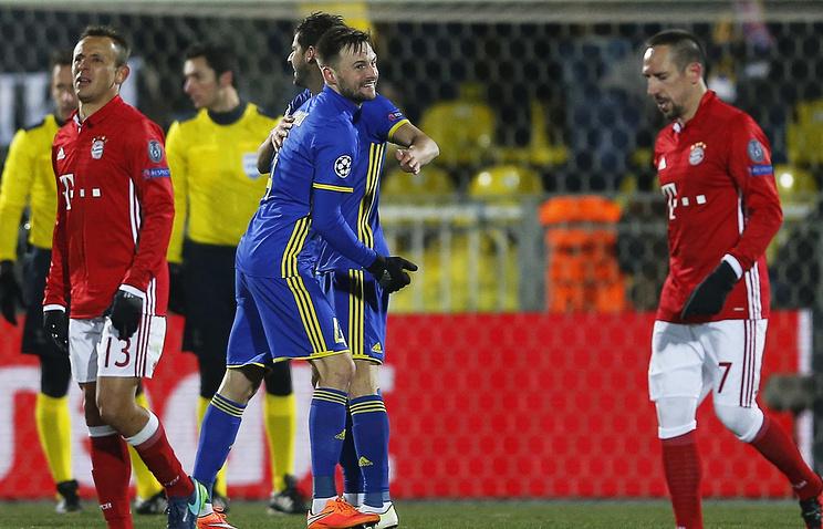 «Ростов» получит запобеду над «Баварией» 1,5 млн. евро