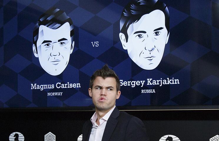 Карлсен свел кничьей девятую партию матча сКарякиным