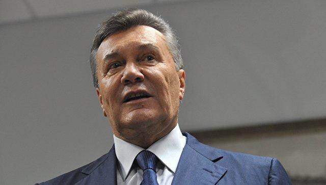 Экс-президента Украины Виктора Януковича допрашивают вростовском суде