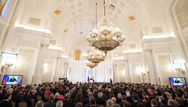 Владимир Путин: «Наши усилия ориентированы наподдержку семьи»