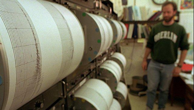 Землетрясение магнитудой 5,3 случилось уберегов Камчатки