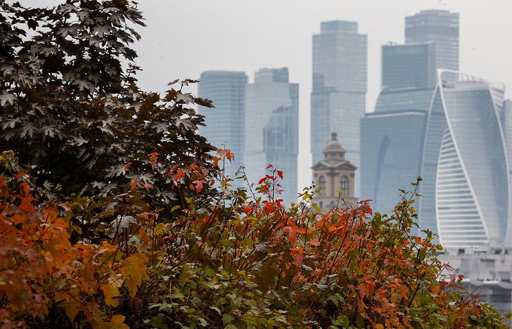 Синоптики назвали осень этого 2016-ого в столицеРФ самой хмурой в 21 веке