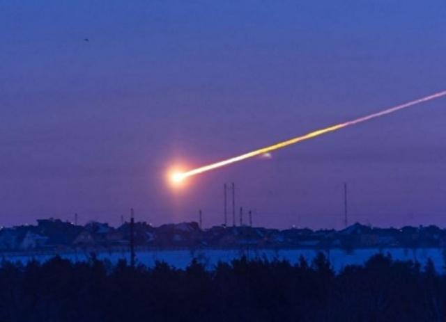 Небо над Хакасией пронзил метеорит— Посланец космоса