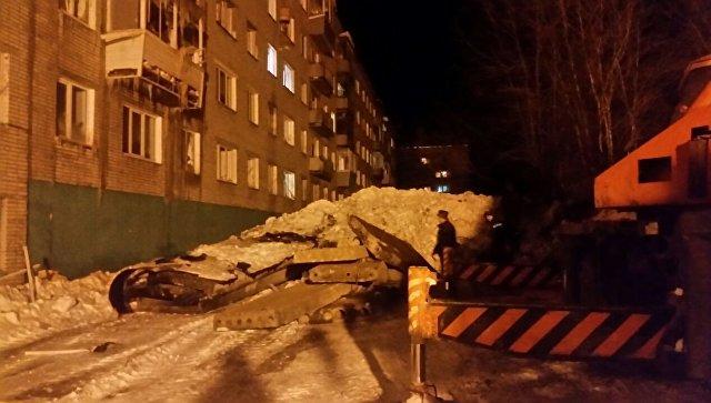 Врайоне Хабаровского края введен режимЧС после взрыва газа вдоме