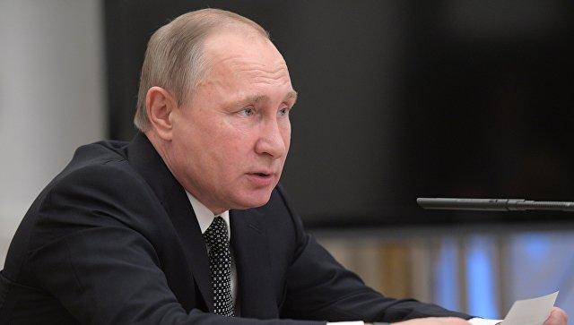Путин объявил, что лекарства имедоборудование недолжны оказаться под санкциями