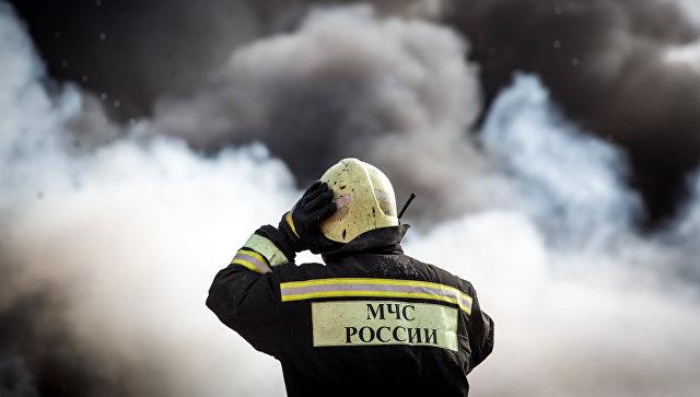 Интенсивный пожар вВоронеже ликвидирован