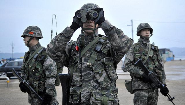 Втренировочном лагере южнокорейской армии произошел взрыв, есть пострадавшие
