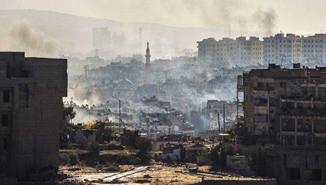 Эвакуация изАлеппо приостановлена из-за обстрелов состороны боевиков