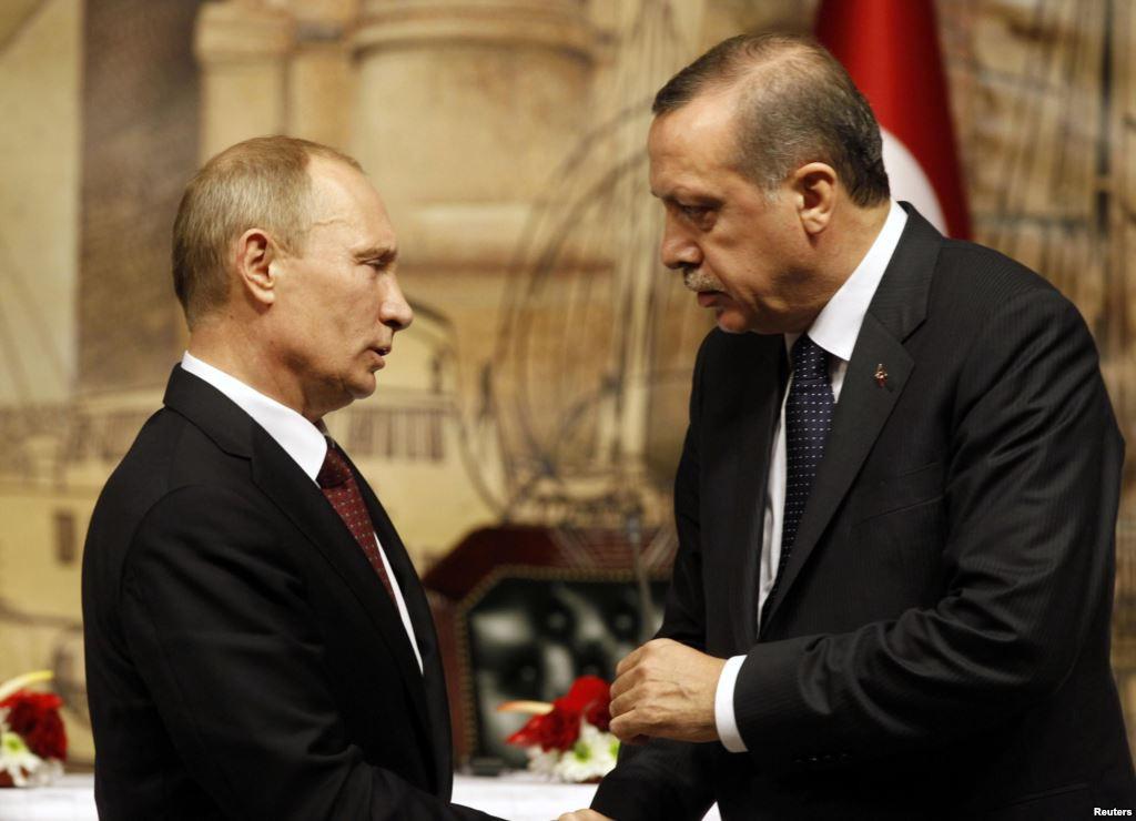 Президенты России и Турции обсудили сирийский вопрос
