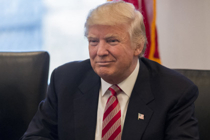 Трамп поздравил собственных приверженцев спобедой напрезидентских выборах вСША