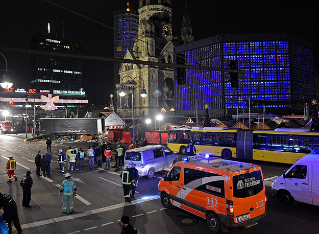 ВДортмунде задержали четырех человек, подозреваемых впричастности ктеракту вБерлине