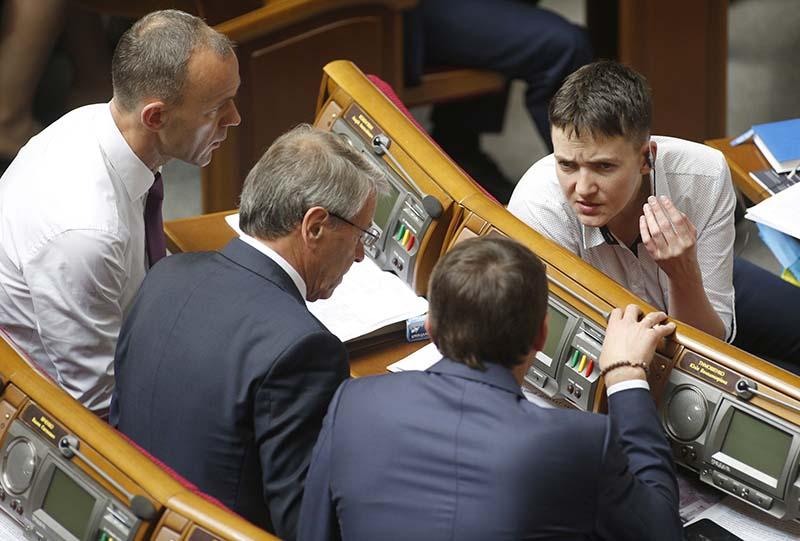 Надежду выгнали изделегации вПАСЕ заправду обУкраине— секретарь Савченко