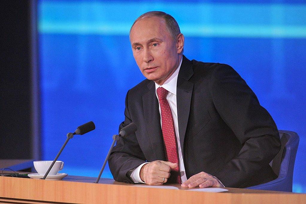 «Спад русского ВВП замедлился»— Владимир Путин