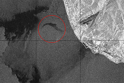 Размещен снимок района крушения Ту-154 изкосмоса