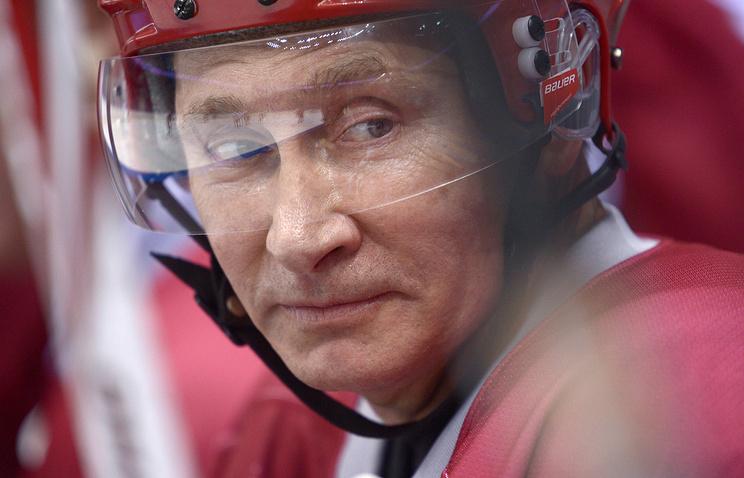 На новогодних каникулах Владимир Путин будет заниматься спортом